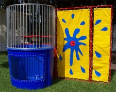 Stop by the Exhibit Hall on Thursday to dunk some credit union leaders!